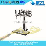 British style new design one/two/three/four way stainless steel Beer Tower for restaurant, living room