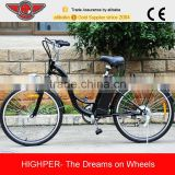 "2015 High Quality 250W 26"" Electric Bicycle Bike with EN15194 and EN14764 (EL06S)"