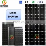 High efficiency solar panel 300watt mono crystalline silicon with 2.2kw single phase pump inverter