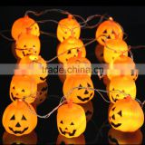 N93 3.5M Halloween Props Haunted House Supplies Bar Decoration 16 LED Pumpkin String Light Fairy lights Festival Lamp