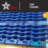 900Y-002 series modular plastic conveyor belt/plastic mesh conveyor belt/raised rib modular belt