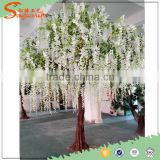 factory price Customized China artificial wisteria tree wedding decoration artificial wisteria
