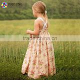 European Style Children Little Princess Girls Dress Patterns Cotton Girls Birthday Party Maxi Dresses