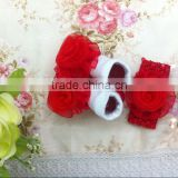 Wholesale baby girl clothes christmas fancy design good quality custom newborn plain white baby socks