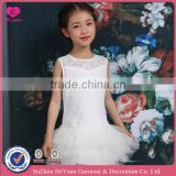 H16105 Flower Girl Dress Soft Lace Toop Ballet Puffy Bottom 2016