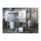Ultra High Temperature UHT Plate Sterilizer Equipment / Pasteurizer Machine for Milk Plant