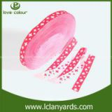 Gift package Polyester custom ribbon double face nylon webbing nice Sublimation ribbon