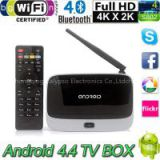 Android 4.4 TV BOX Support Arabic iptv 2015 Best Selling TV Receiver Quad-core Digital Android Smart Tv