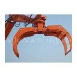 High Efficiency Rotating Excavator Bucket Tractor Grapple Attachment