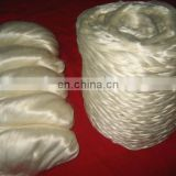 Chinese 100% tussah silk fibre tops