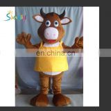 real inflatable costume, inflatable cow costume for promotion oractivities