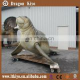 2016 hot equipment moving simulation sea animal model of sea lion