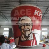 High quality KFC Inflatable Family Bucket, Inflatable Advertising Model For Sale