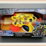 eva soft bullet gun transformable robot toy