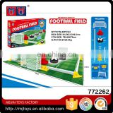 Mini air float football toys set electric B/O competitive football game toys