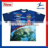 sublimated fishing wear waterproof fishing clothing