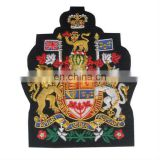 Embroidered Bullion Crest, British coat of arms crest