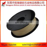 Big Hole Black spool 3D Printing 3.00mm Wood Filaments Wood Filaments