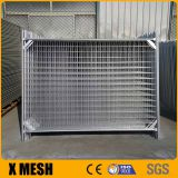 2400 Wx 2100 H Durable Galvanized Wire Mesh Temporary Fence