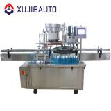 automatic eyeglass clean liquid plastic bottle filling and capping machine