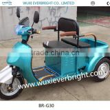 Mini electric three Wheeler, battery operated three wheel scooter, leisure scooter for old and child