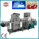 Fully automatic Screen Printing and Plastic Welding 2 in 1 Medical infusion bag Production line