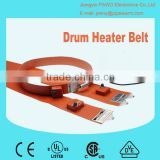 Silicone Rubber Drum Heater Belt with Temperature Controller in China factory