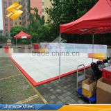 Perfect self-lubrication synthetic ice rink panel artificial ice panels indoor or out door moveable