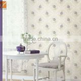 Europe flower dmask wallpaper in non-woven material