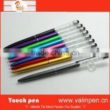 Cute crystal stylus ball pen with engraving logo for iphone                                                                         Quality Choice
