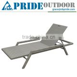 New Model Sofa Bed Outdoor Aluminum Folding Beach Luxury Lounge Chair
