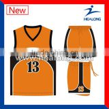 Best Design Cheap Reversible European Basketball jerseys
