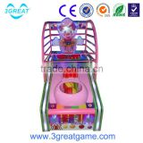 Cheap clown kids basketball shooting game machine