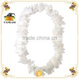 White Hawaii Flower Necklace Lei for Sale                                                                         Quality Choice
