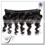 Wholesale top quality natural black color spring curl loose wave 100% brazilian virgin human hair weave hair extension type