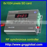 RGBW light led controller wirless with 8 DMX port                                                                         Quality Choice