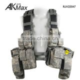 New Generation Digital Grey Camouflage Tactical Vest With TPU Tank Hydration System