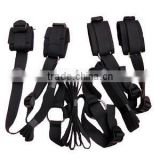 Under Bed Restraint System Kit Cuffs Fetish Bondage Belt Sex Role Play Adult sex Toy HK052