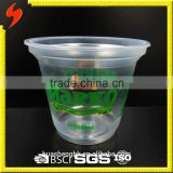 OEM High Quality 180ml Plastic Clear Ice-cream Container and Lid