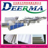 PVC hard surface foam sheet making machine with high quality low price and good performance