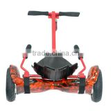 Kids Pedal Hover Cart Handle Go Kart Hoverboard Bracket for Two Wheels Scooter