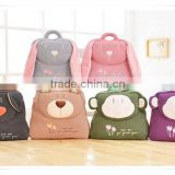 Children's school bag cute animal backpack plush cartoon baby backpack kindergarten plush bag