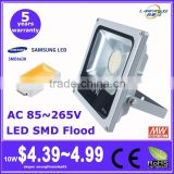 ce rohs ul approved 5 years warranty cheap price Samsung LG SMD 20w rechargeable led flood light