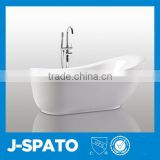 Antique Elegant Arc-shaped Free Standing Soaking Homelike Baby Bath Tub With Clawfoot                                                                         Quality Choice