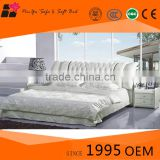 Hot sale latest cheap white modern double king bed design bedroom furniture                                                                         Quality Choice                                                     Most Popular