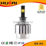 Factory price auto interior led lamp bulb 12v H11 H3 9006 COB auto brake light car led headlight