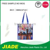 Custom-made china non woven fabric carrier bag/colorful pringting plastic bag/non woven material printing bag