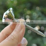 Clear Crystal Glass Buttons With Prongs For Furtiture Decoration,Various Color/Sizes Available