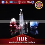 SGS Certification Customizable mould Recyclable Arcrylic Lotion empty container for cosmetics