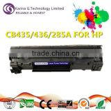 Super quality consumalble product CB435/436/285A copier toner for HP LaserJet P1005 laser-printer